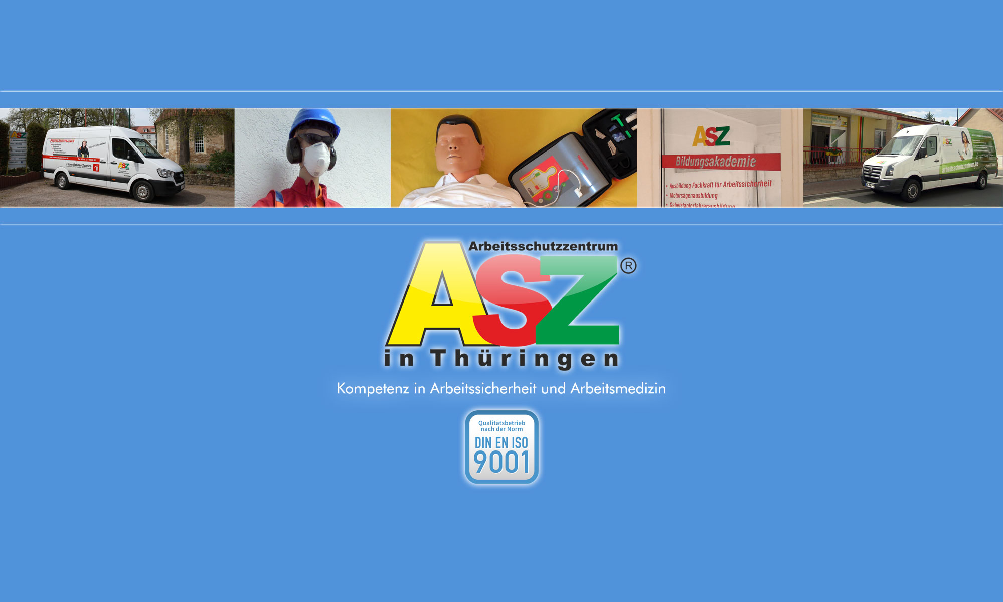 Arbeitsschutzzentrum in Thüringen